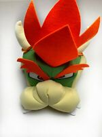 Super Mario Bowser Headpiece Adult Costume Disguise Officially Licensed