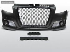 NEW Front bumper RS3 look fog lights ABS plastic BODYKIT tuning set S RS