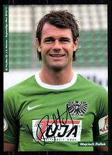 Wojciech Pollock SC Preußen Münster 2009-10 Original Signiert + A 85425