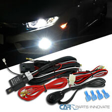 Led Halogen Hid Full Wiring Harness Kit With Swith Relay Fuse For Car 4x4 Off Road