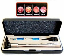 Dr Mom Stainless LED Otoscope Otoscopes with Hard Case Third Generation