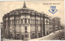 Royaume Uni - EDINBURGH - M'Ewan Hall