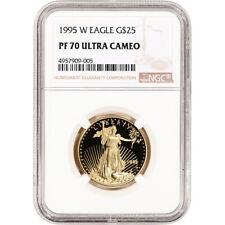 1995-W American Gold Eagle Proof 1/2 oz $25 - NGC PF70 UCAM