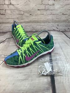 Nike XC Track Shoes Racing Shoes Cleats Sz 8.5 605504-364 Spikes Included