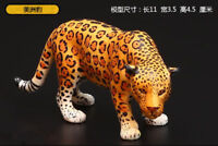 Resin wild animal Panthera onca Hand Painted simulation model Figurine Statue