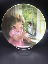Wait A Little, 7 3/4 Inch Kaiser Collector Plate By Alice Schlesinger ~
