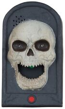 Skeleton Doorbell Sounds Lights Movement Scary Halloween Party Decoration Prop