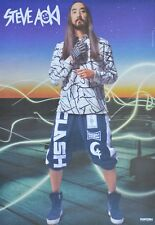 STEVE AOKI - A3 Poster (42 x 28 cm) - DJ Clippings Fan Sammlung NEU