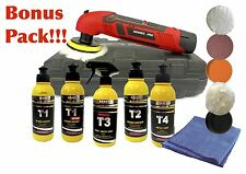 11 Pcs Bonus Variable Speed Polisher Kit 12v Lithium Ion MINI Cordless