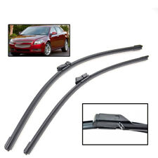 "24"" 21"" Front Wiper Blades For Chevrolet Malibu MK7 08-12 Windshield Set 09 10"