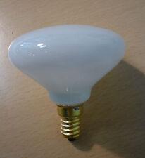 ELDEA Glühlampe E14 40W opal weiß Glühbirne klassische Design Form Spiegellampe