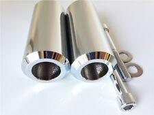 Chrome Extended Frame Slider For Yamaha Fz-6 Fz-6S 600 2004-2007 2008-2012