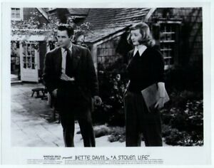 A Stolen life 1946 Movie Photo Reproduction - Bette Davis Glenn Ford