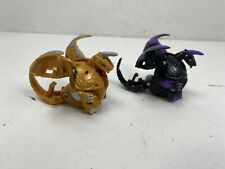 SpinMasters Bakugan - Battle Planet - Black Darkus/Tan Subterra - (2) Dragonoid