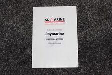 Raymarine ST6001 plus et ST6002 manual user italien