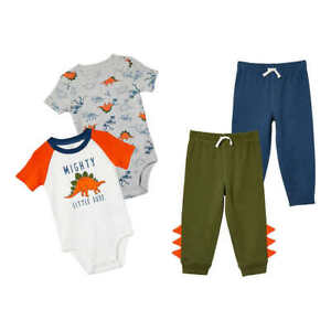 NWT Carter's Kids' 4-piece Set, Dinosaur