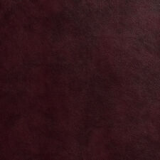 G533 Burgundy Red Upholstery Recycled Leather (Bonded Leather) By The Yard