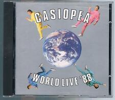 CASIOPEA WORLD LIVE '88 CD MADE IN JAPAN