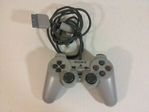 Official Sony PlayStation PS1 Dual Analog Controller Concave Sticks SCPH-1180