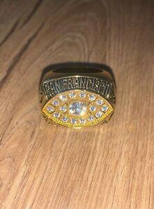 San Francisco 49ers 1981 Championship Replica Super Bowl Montana Ring Size 11