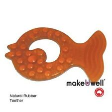 Baby Baby Teether made from Natural Rubber by Make U Well 👶🏽