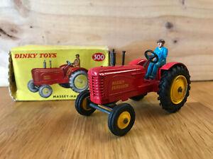 Dinky Toys - 300 - Massey-harris Tractor avec boîte
