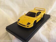 KYOSHO Dnano ASC (RM), YELLOW FERRARI F40, 1:43 DISPLAY MODEL, DNX304Y