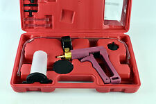 Hand Vacuum Pump Held Brake Bleeder Tester Set Bleed Car Motorbike Bleeding Kit