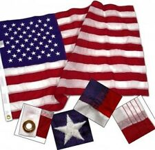 4x6 ft United States Flag Sewn Embroidered Stars & Sewn Stripes Made in USA