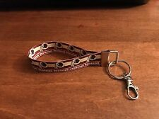 Washington Redskins Keychain Double Sided Ribbon Made In The USA