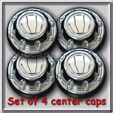 1998-1999 Dodge Ram Truck 2500 Center Caps Chrome Wheel Hub Caps  Set of 4