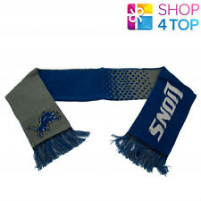 DETROIT LIONS OFFICIAL AMERICAN FOOTBALL CLUB NFL TEAM KNIT SCARF ACRYLIC NEW