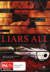 LIARS ALL DVD - R4 -  Ex Rental Thriller Movie Ex