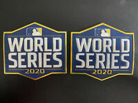 (2) Official 2020 World Series Patch MLB Baseball Jersey Patch Tampa Bay Rays