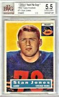 STAN JONES RC 1/1 Topps 1956 #71 VAULT ROOKIE HOF Chicago BEARS w/COA BVG