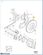 Genuine Volvo Front Brake Rotor Kit  XC60 RE0A 31423305