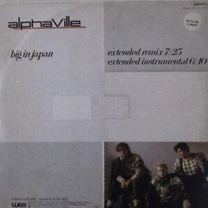"ALPHAVILLE - Big In Japan ~ 12"" Single PS GERMAN PRESS"