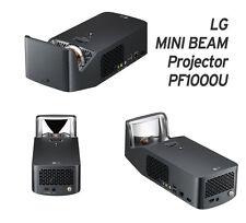 Genuine LG Minibeam PF1000U Ultra Short Throw LED Home Theater Projector Full HD