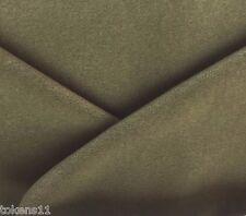 LUXURIOUS LUSTROUS MOHAIR VELVET UPHOLSTERY FABRIC OLIVE DRAB 1.5 YARDS