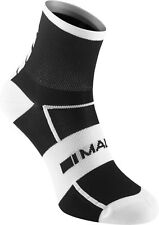 Madison Sportive Men's Mid Cycling Socks Twin Pack - Black/White - Large