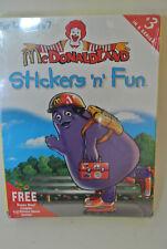 McDonaldland Stickers 'n' Fun- Big Box Edition: 1997 - Brand New Factory Sealed