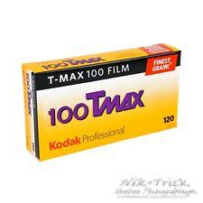 Kodak Tmax 100 120 Medium Format B&W Film ~ Box of Five Rolls ~ First UK Stock!!