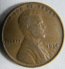 1934 Lincoln Wheat Cent VOLUME DISCOUNTS whotoldya