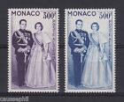 es - MONACO Poste Aérienne n°71/72, Couple Princier 1959, neufs **