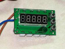 12V Digital PWM DC Motor CPU Fan Temperature Control Speed Controller 4 Way