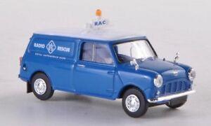 Austin Mini Van, RAC Radio Rescue, 1:87, Brekina