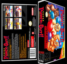 Super Punch Out  - SNES Reproduction Art Case/Box No Game.