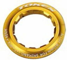 Token Lock ring for Shimano Cassettes 12 Teeth gold