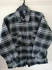 Mens Padded Checked Shirt Fleece Lined Lumberjack Work Wear by Eurolec.LARGE.