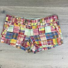 American Eagle Outfitters Women's Check Shorts Size 6US Fit W31 L2.5 (Y5)